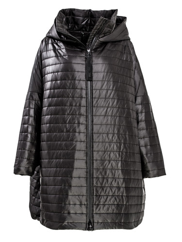 Black Puffer Jacket Long | Lonnie