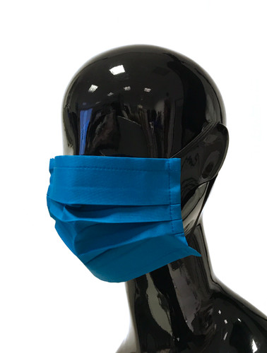 "Petrol Three layer ""Anti #COVID19"" Reusable Face Mask 
