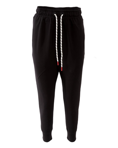 Black Brushed Sweat Track Pants With Pockets  | Nova