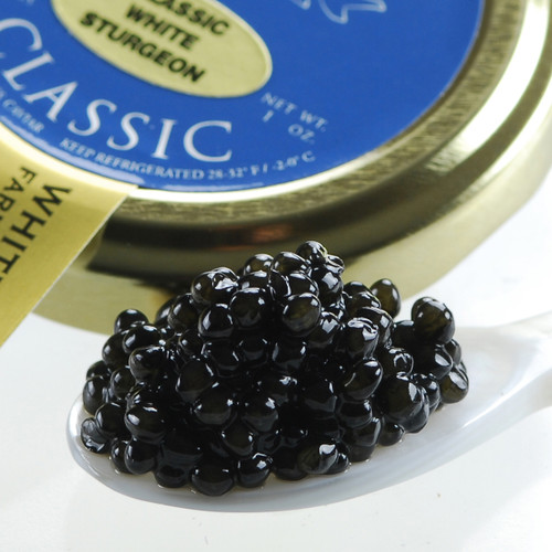 California White Sturgeon Caviar