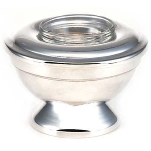Petit Silver Plated Caviar Server Capacity 1-2 oz.
