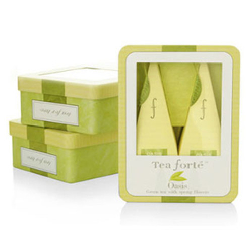 Tea Forte Earl Grey Black Tea - 2 pieces in Small Tin