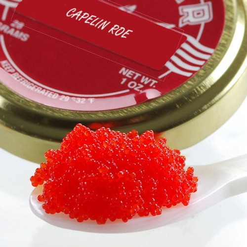 Red Capelin Roe Shelf Stable