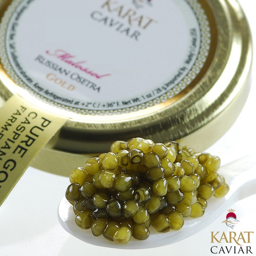 Karat Gold Farmed Osetra