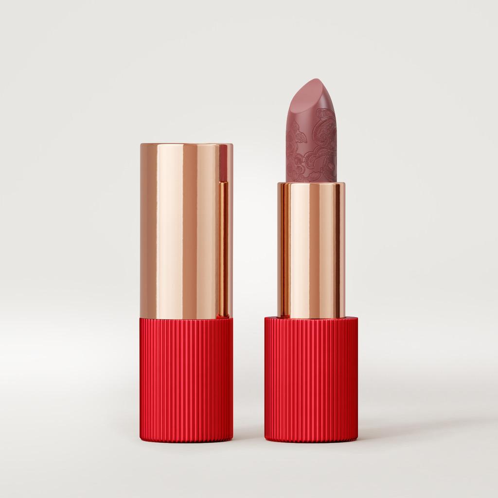 Matte Silk Lipstick | Nude Red