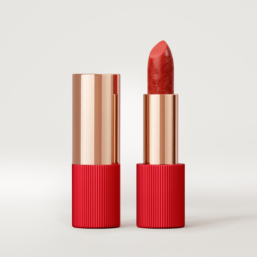 Matte Silk Lipstick | Tangelo Red