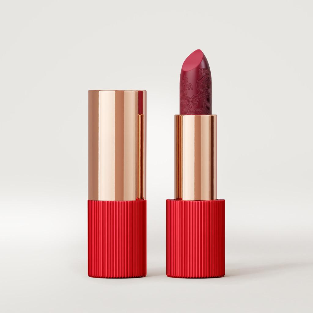 Matte Silk Lipstick   Cherry Red