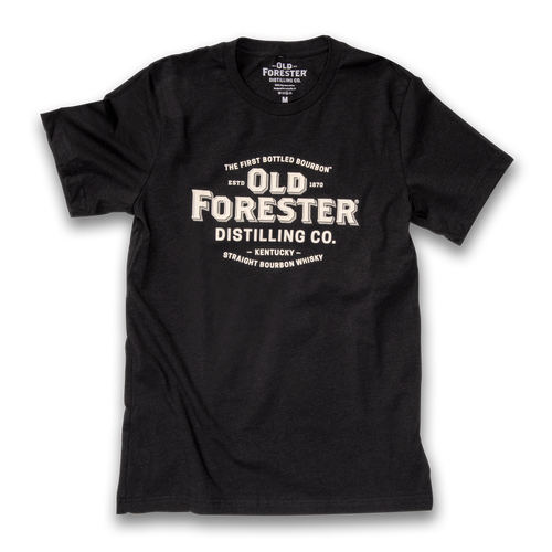 Old Forester Classic Logo T-Shirt - Midnight Black