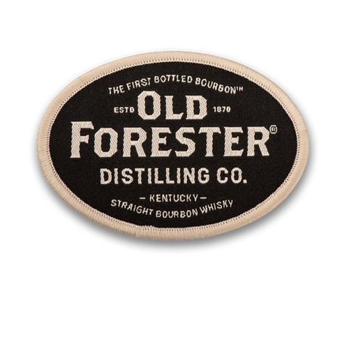 Old Forester Embroidered Patch