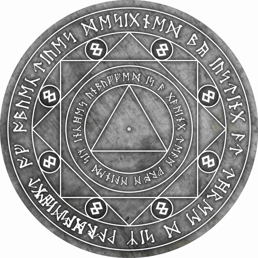 Neoprene Objectives - Concrete Spell Circle