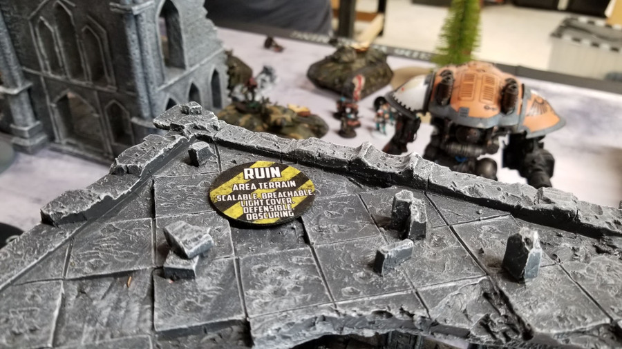 40K Terrain Feature Markers