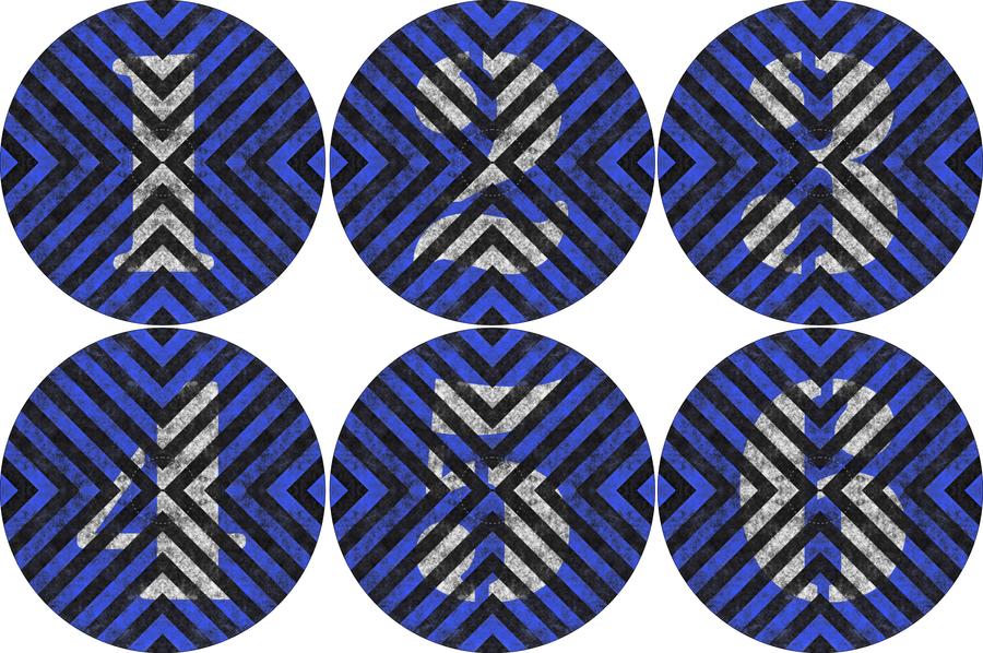 Neoprene Objectives - Hazard Stripes