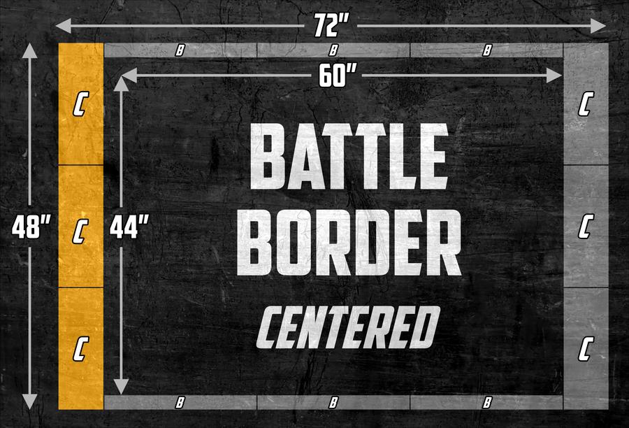 Battle Border Centered - Scoreboard C Panels