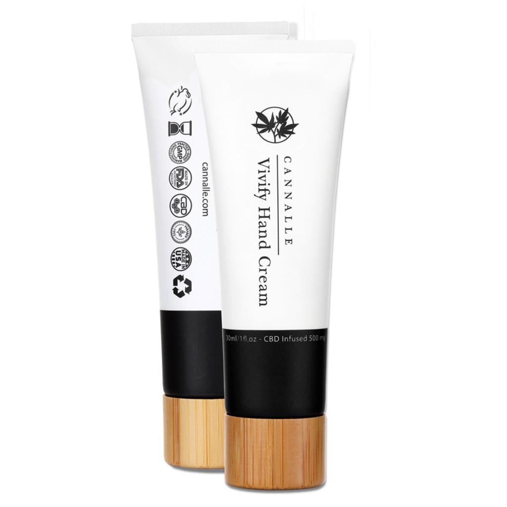 Vivify Hand Cream - CBD Infused 250mg