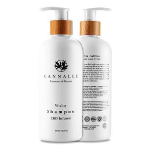 CBD Infused Vitality Shampoo