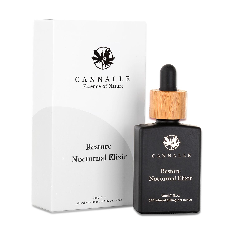 Restore Nocturnal Elixir - CBD Infused 500mg