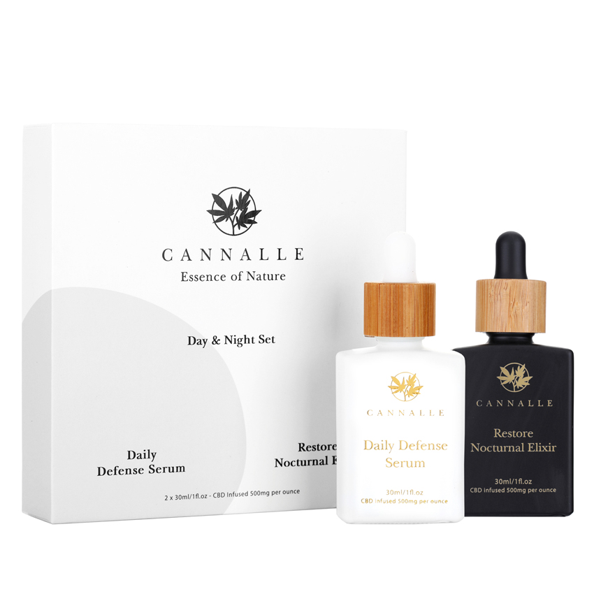 CBD Serums for night and day use