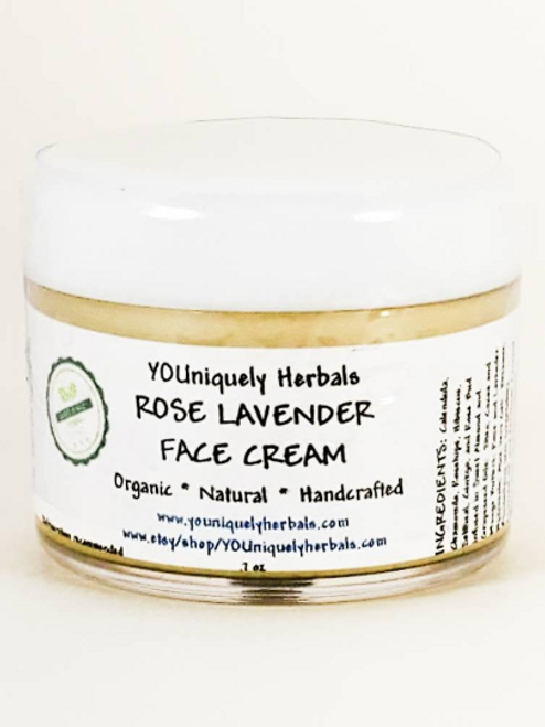Rose Lavender Face Cream