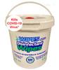 800 Disinfecting Wipes in Bucket Dispenser
