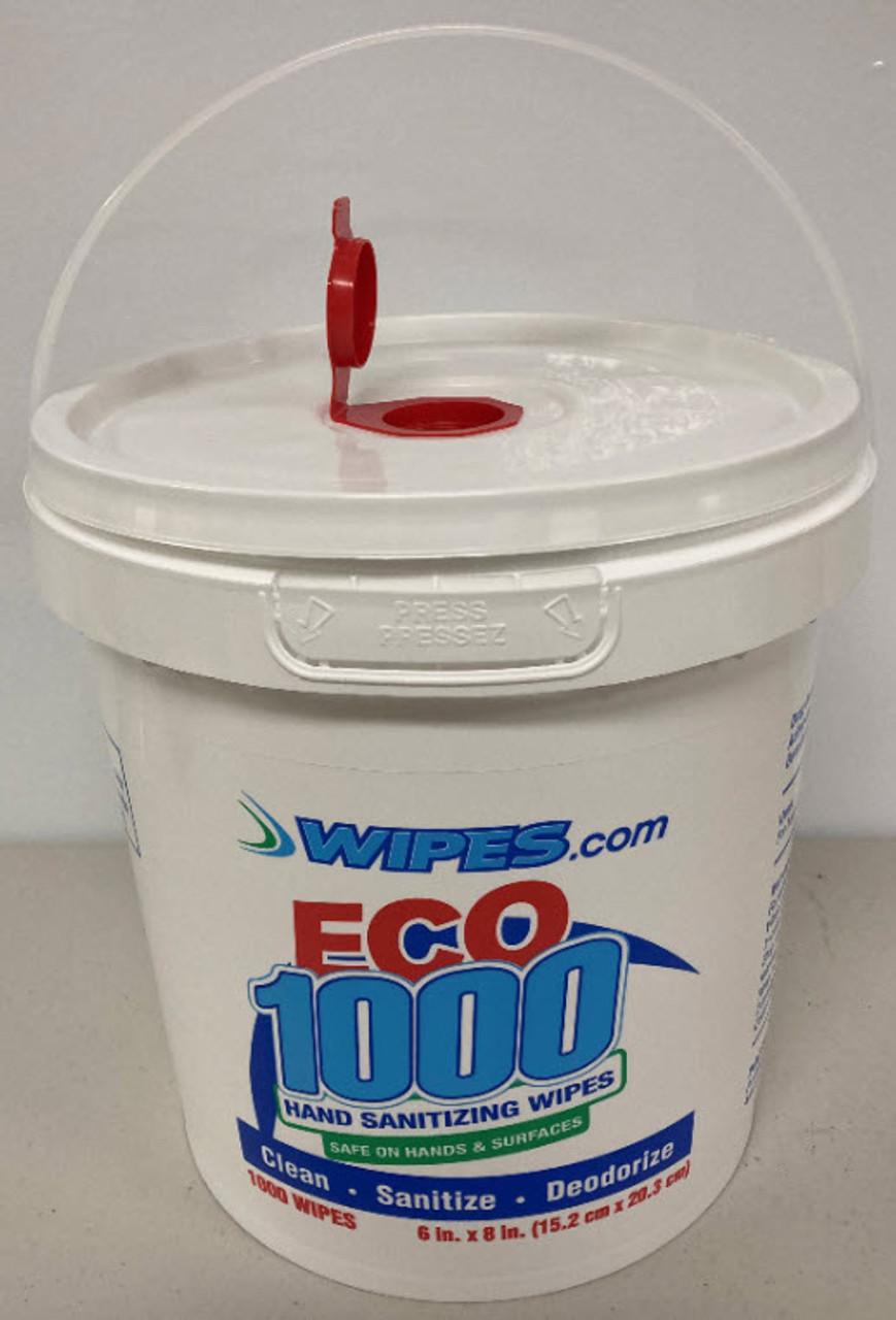 Empty Bucket Dispenser - ECO1000 Label