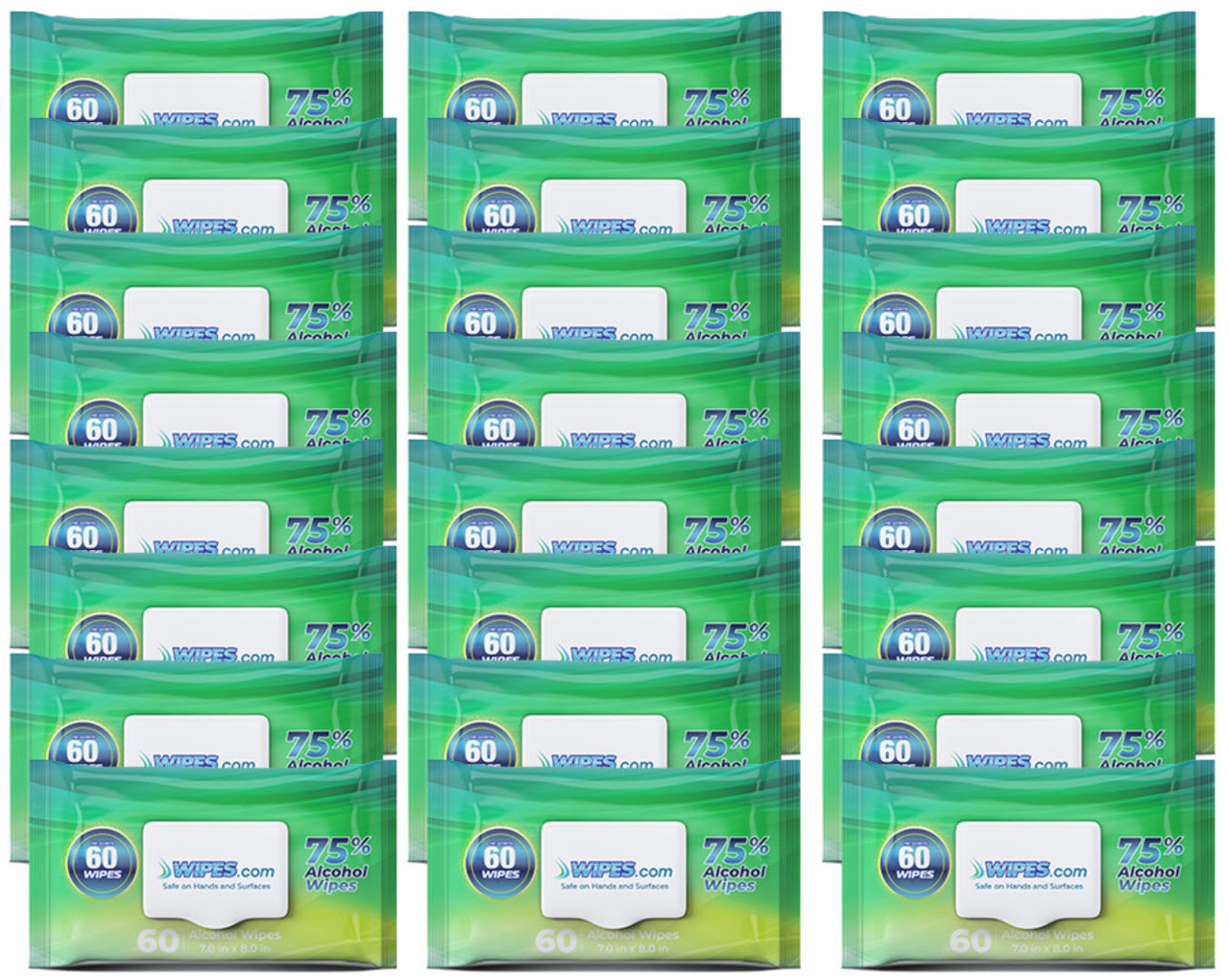 24 Packs Alcohol Wipes