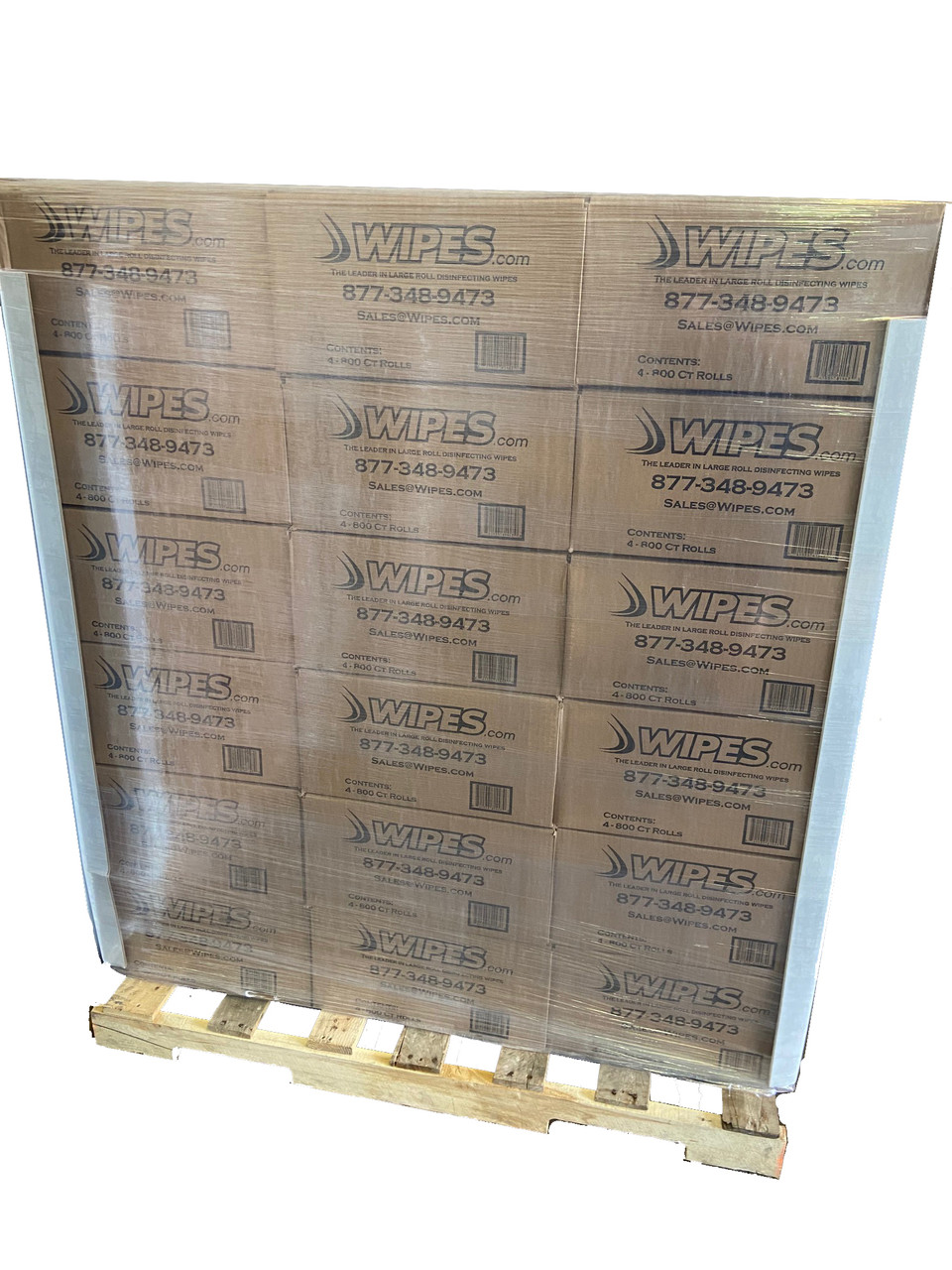 Pallet Disinfectant Wipes