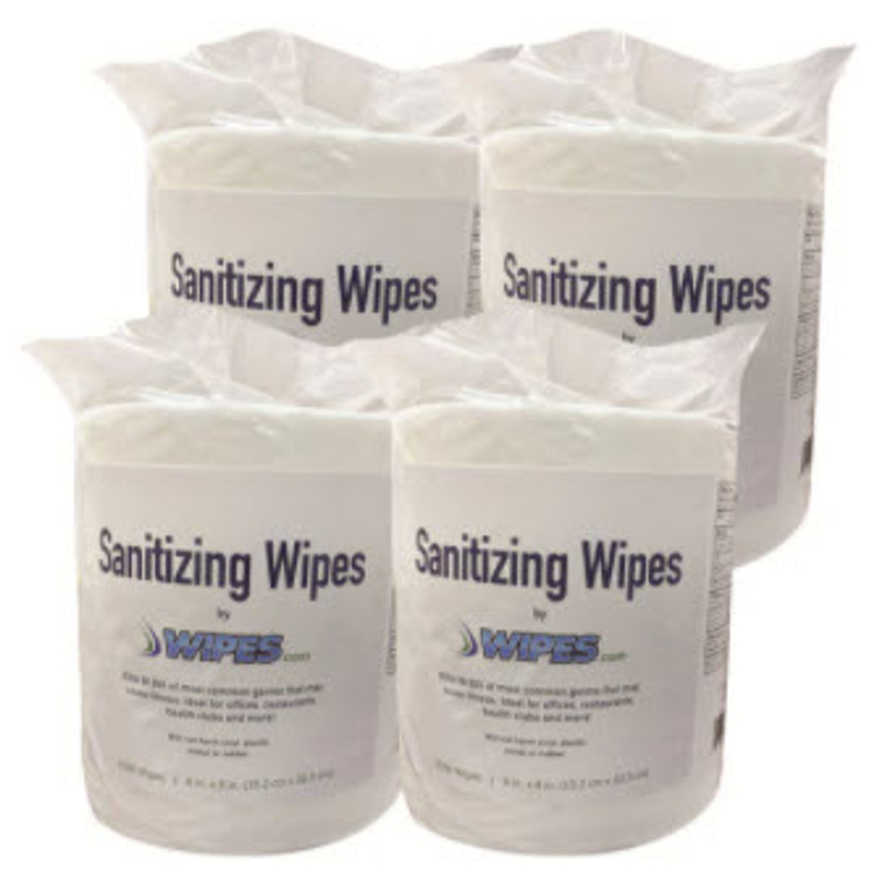 Wipes.com Sanitizing Wipes - 10 Cases