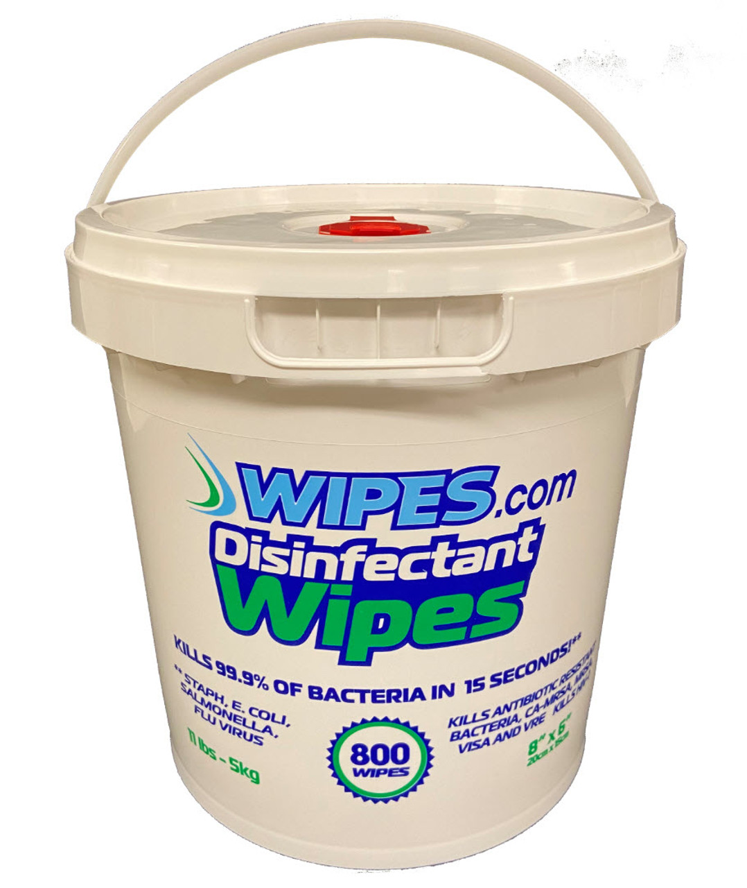 100 Buckets of Disinfecting Wipes - 800 wipes per