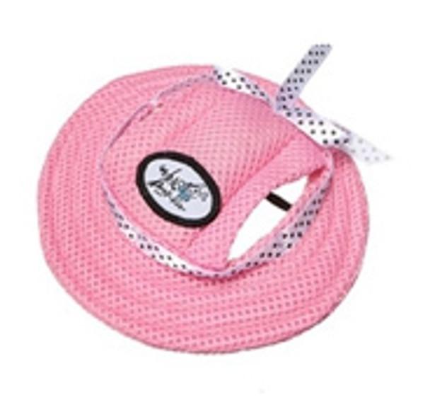 Pink Dog Sun Hat