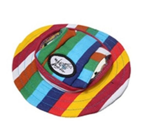 Stripe Dog Sun Hat