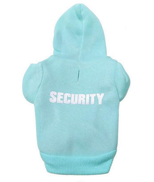 Blue Security Dog Hoodie
