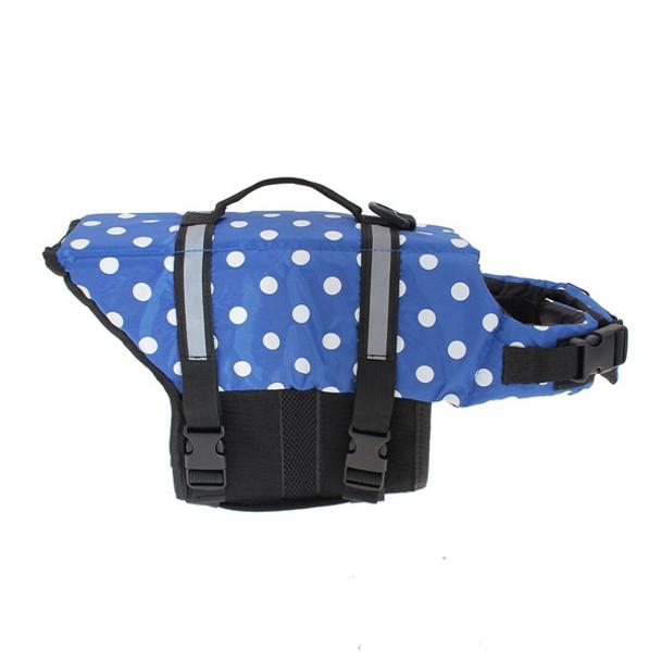 Blue Dot Dog Life Vest