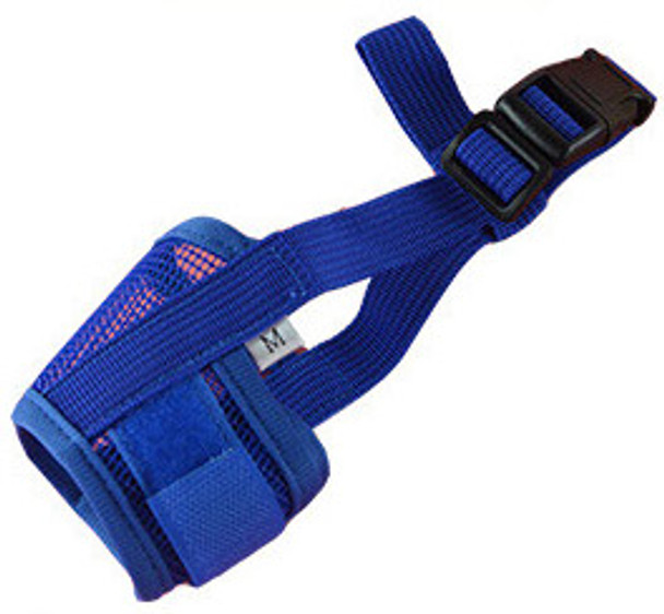 Blue Mesh Dog Muzzle