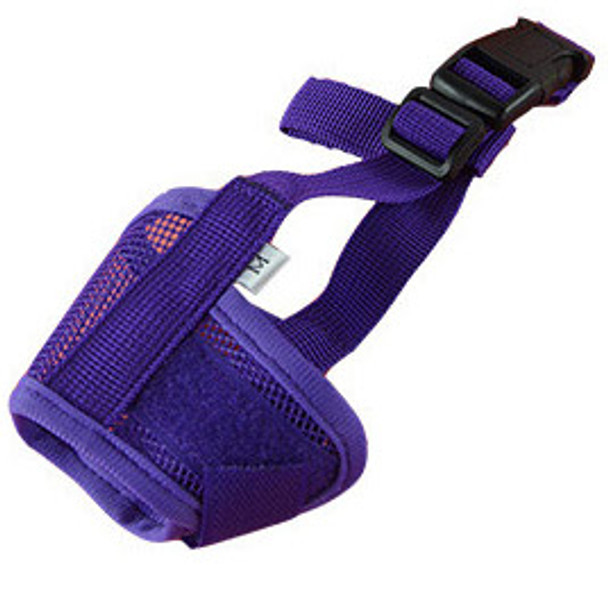 Purple Mesh Dog Muzzle