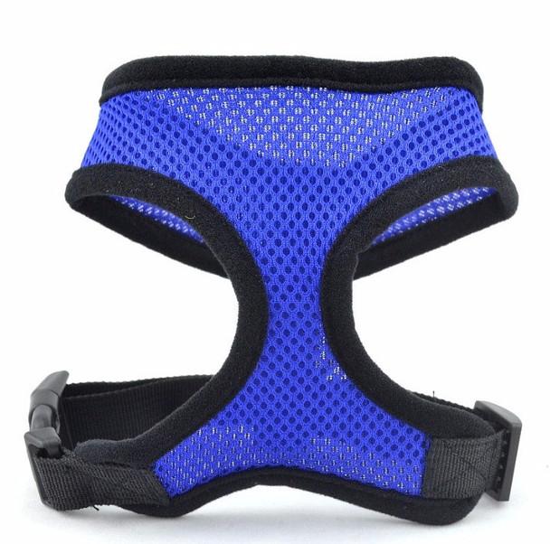 Dark Blue Soft Nylon Dog Harness