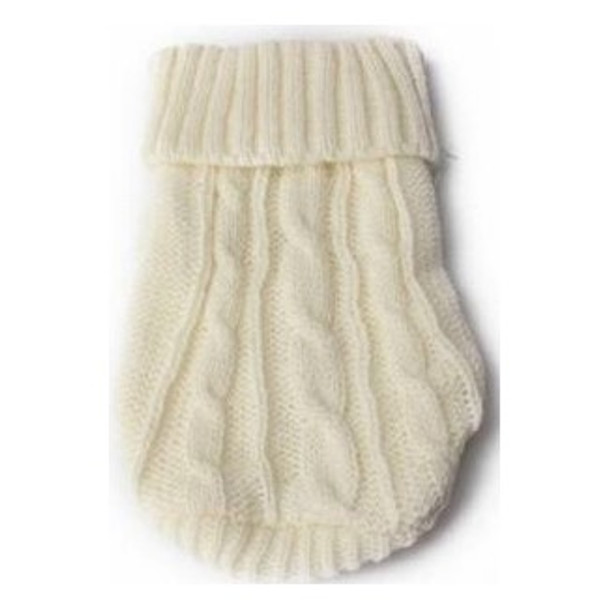White Knitted Miniature Dog Jumper