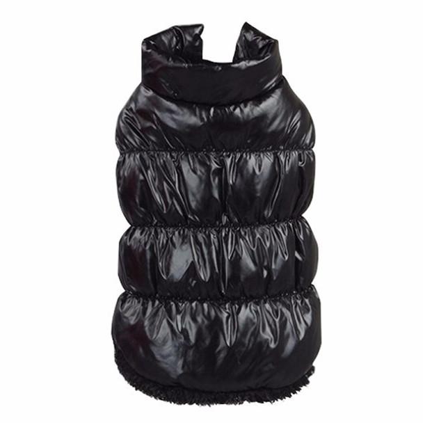 Black Dog Body Warmer Coat