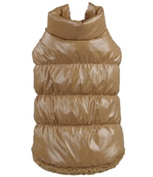 Brown Dog Body Warmer Coat