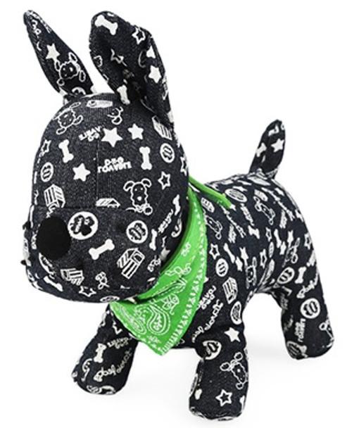 Green Paisley Dog Bandana Collar