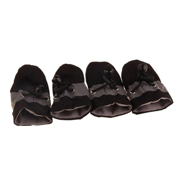 Black Waterproof Dog Boots
