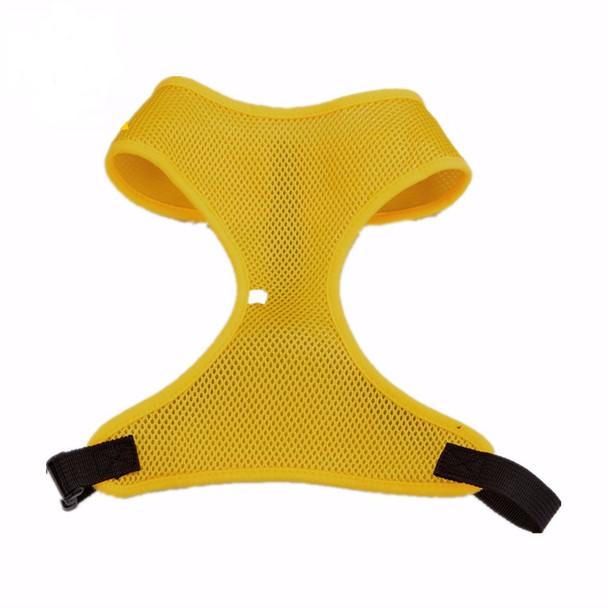 Bright Yellow Gold Lightweight Dog Harness