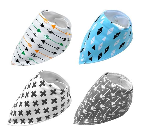 Pack of 4 Dog Bandana Scarves (Style 6)