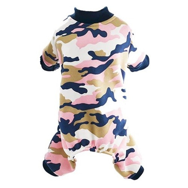 Pink Camo Dog Pyjamas