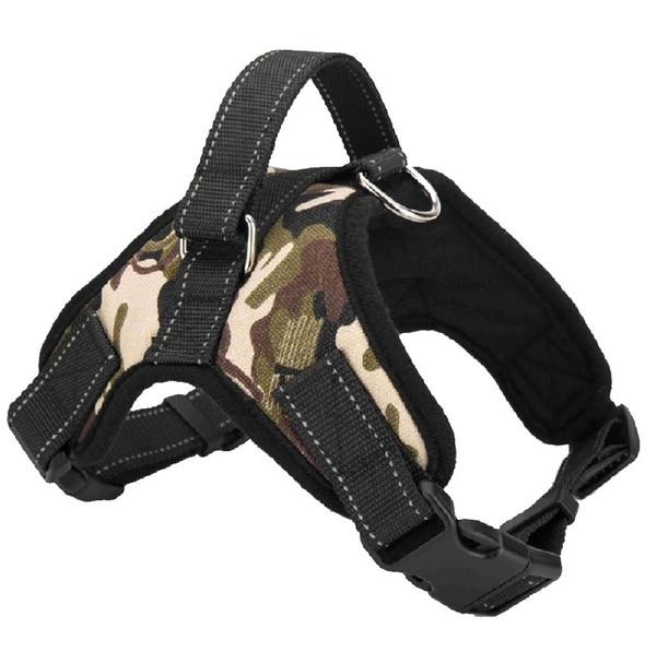 Green Camo Heavy Duty Dog Harness