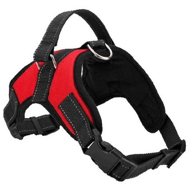 Red Heavy Duty Dog Harness