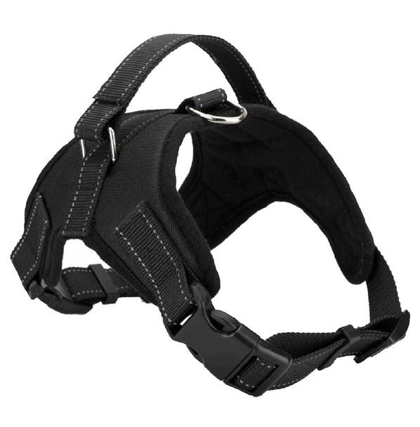 Black Heavy Duty Dog Harness