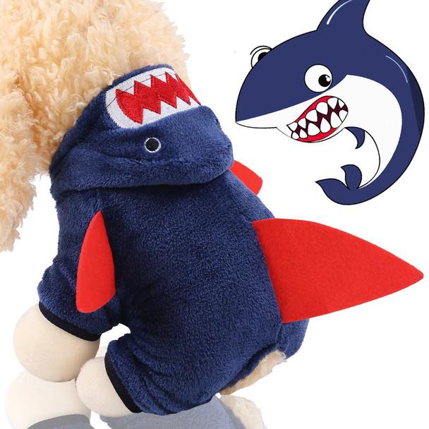 Blue Shark Dog Onesie Pyjamas