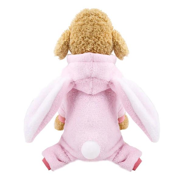 Pink Rabbit Dog Onesie Pyjamas