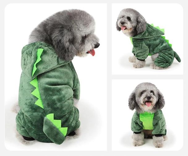 Green Dinosaur Dog Onesie Pyjamas