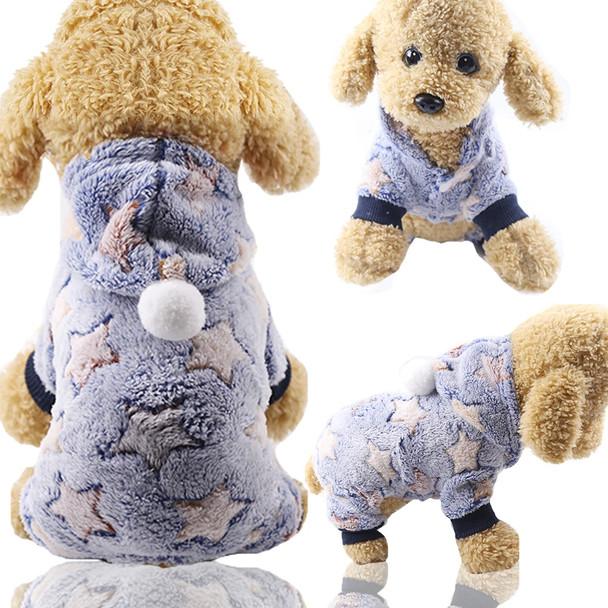 Blue Star Dog Onesie Pyjamas